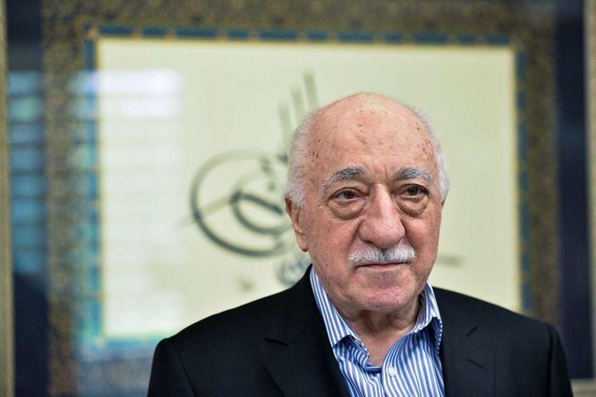 US-based cleric Fethullah Gulen at his home in Saylorsburg, Pennsylvania, July 29, 2016.