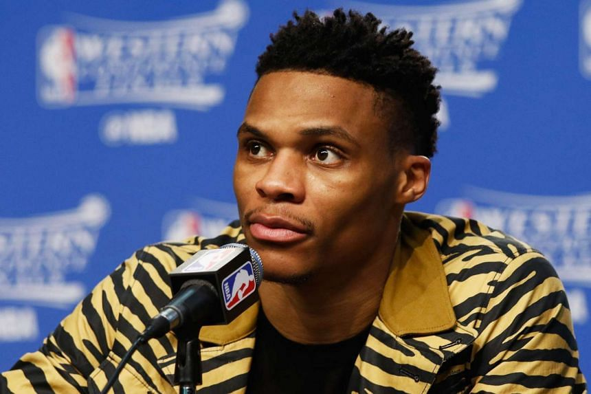 Guard Russell Westbrook has reportedly signed a three year US$86m (S$115.3m) contract with the Oklahama City Thunder.