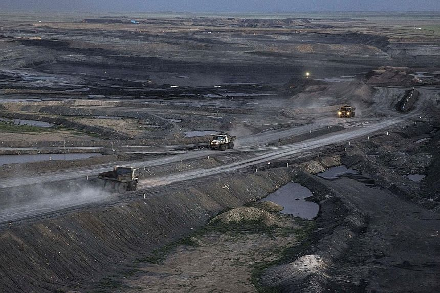 """A coal mine in Mongolia. The World Bank last year acknowledged its projects sometimes resulted in forced population displacements. Human Rights Watch said the new rules do """"not require the bank to respect human rights""""."""