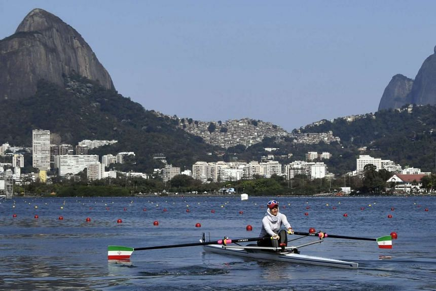 Rowers have described the course (above) as unfit for purpose.