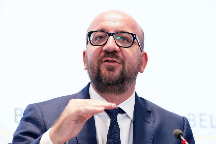 Belgian Prime Minister Charles Michel addresses a press conference after a special security meeting in Brussels on Aug 7, 2016.