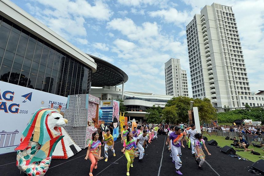 Despite a suspension of all student-organised orientation activities at the National University of Singapore (NUS) over a week ago following reports of sexualised activities, the university's Rag Day concluded successfully yesterday. NUS president Ta