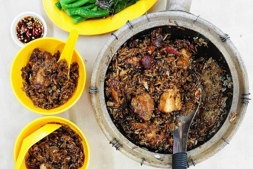 Claypot Chicken Rice