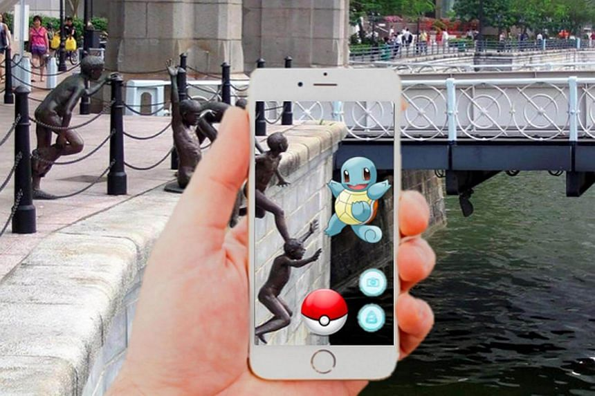 Pokémons may be found at various locations, including water bodies.