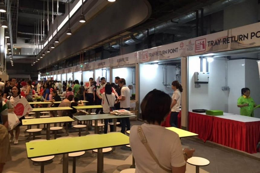 The hawker centre, which will be among the first facilities to open in November 2016.