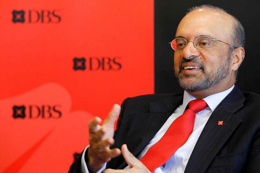 DBS Group chief executive officer Piyush Gupta.