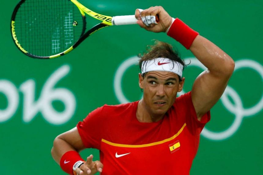 Rafael Nadal has dismissed talk about his left wrist injury after defeating Federico Delbonis to enter the second round.