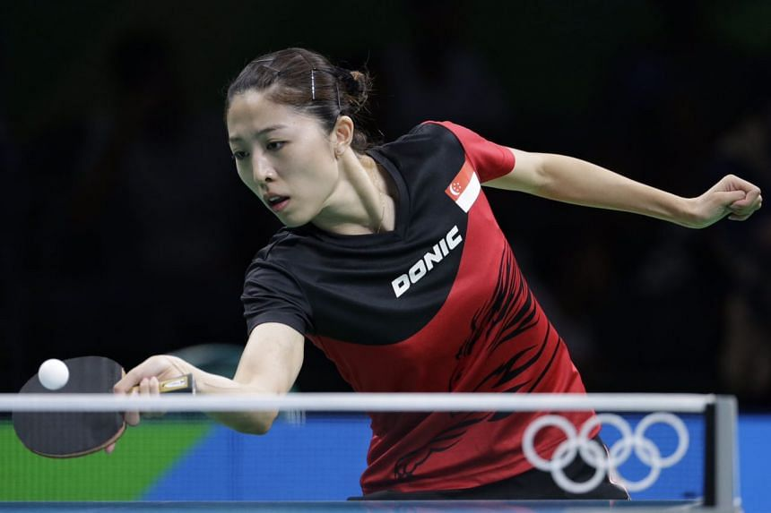 Singapore world No. 13 Yu Mengyu defeated Australia's Lay Jian Fang 4-0 on August 7 night (Brazil time) to make the fourth round of the women's singles.