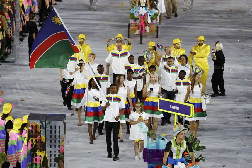 Boxer Jonas Junius was the Olympic flagbearer for his country Namibia, leading his contingent during the opening ceremony at Rio de Janeiro. He has been arrested for attempted sexual assault.