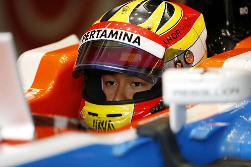Rio Haryanto of Manor during a practice session at the British Grand Prix 2016, on July 9, 2016.