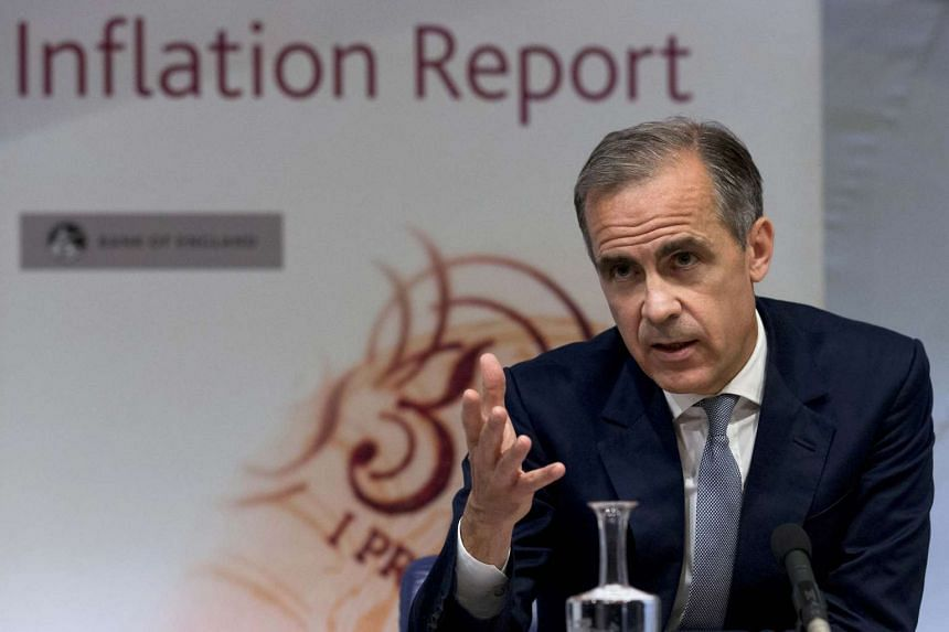 Bank of England Governor Mark Carney hosts a quarterly Inflation Report press conference at the Bank of England in central London, on Aug 4, 2016.