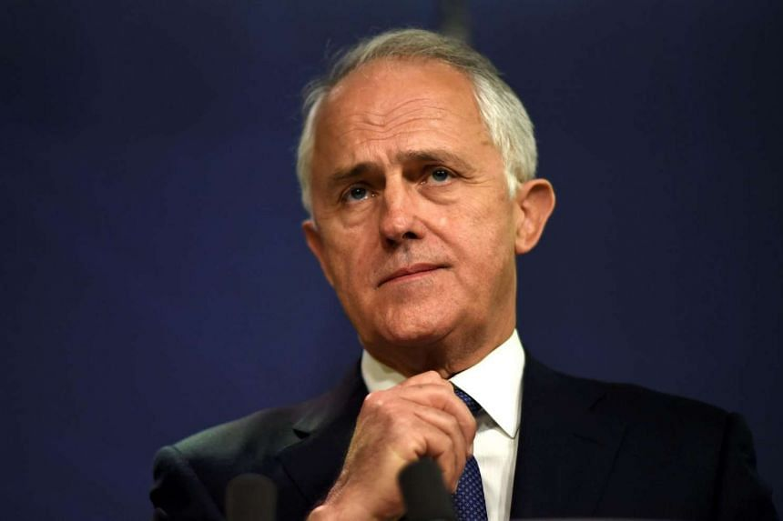 Australia's PM Malcolm Turnbull listens to a question during a press conference in Sydney on August 4.