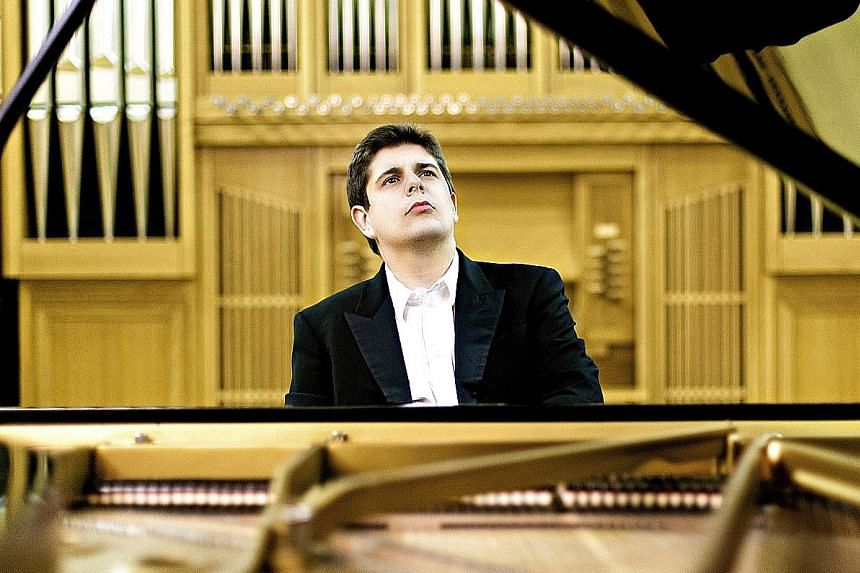 Described as a pianist of great elegance, Javier Perianes (above) will play Grieg's Piano Concerto on Aug 26.