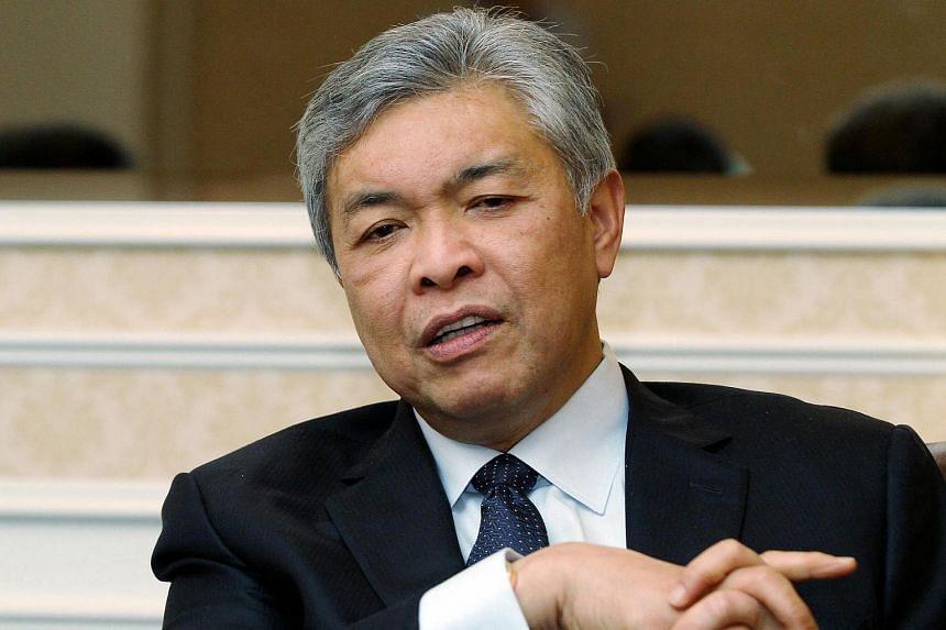 Malaysian DPM Ahmad Zahid Hamidi.