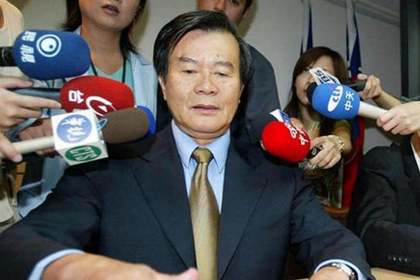 Mr Antonio Chiang seen at a press conference on August 4 where he apologised for drink driving.