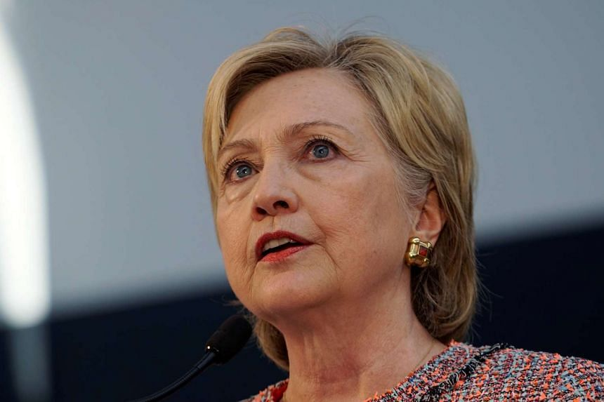 Hillary Clinton comments on a Benghazi report as she speaks at Galvanize, a learning community for technology in Denver, on June 28, 2016.