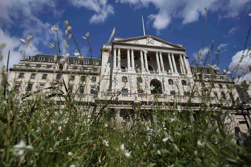 The Bank of England is seen in London, on Aug 4, 2016.