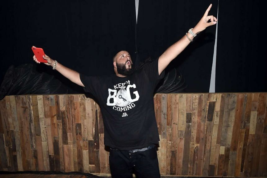 DJ Khaled poses backstage at the 2016 Panorama NYC Festival on July 22, 2016 in New York City
