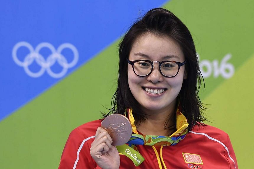 Fu Yuanhui shot to fame when her interview with a CCTV reporter after the 100m backstroke semi-final (Aug 7) went viral.