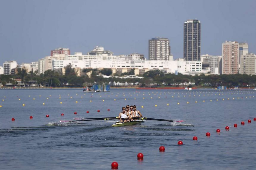 Rowing races at the Rio 2016 Olympics were cancelled on August 10 due to bad weather.