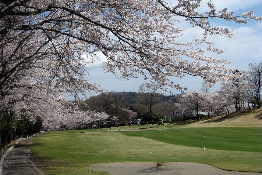 A golf course in Tokyo. Accordia Golf Trust owns 89 courses across Japan and received 2.1 per cent more visitors over the past year.