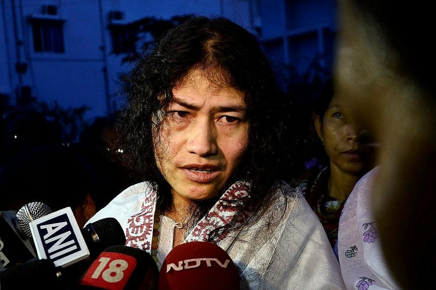 Ms Sharmila says she wants to become the chief minister of Manipur and remove a controversial law which gives soldiers the right to enter houses and shoot on sight with impunity.