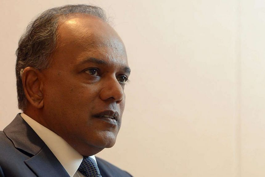 """Home Affairs Minister K. Shanmugam said that the Home Team has embarked on a """"transformation plan"""" that will make it more data-driven by 2025."""