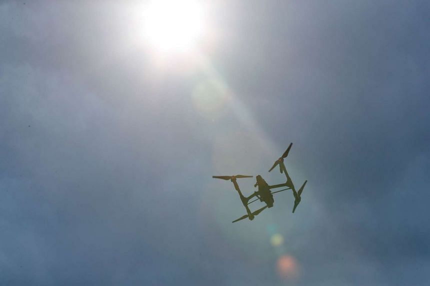 """A passenger plane narrowly avoided being hit by a drone in what police called an """"incredibly concerning"""" near miss as it approached Newquay Airport in Cornwall on Aug 11, 2016."""