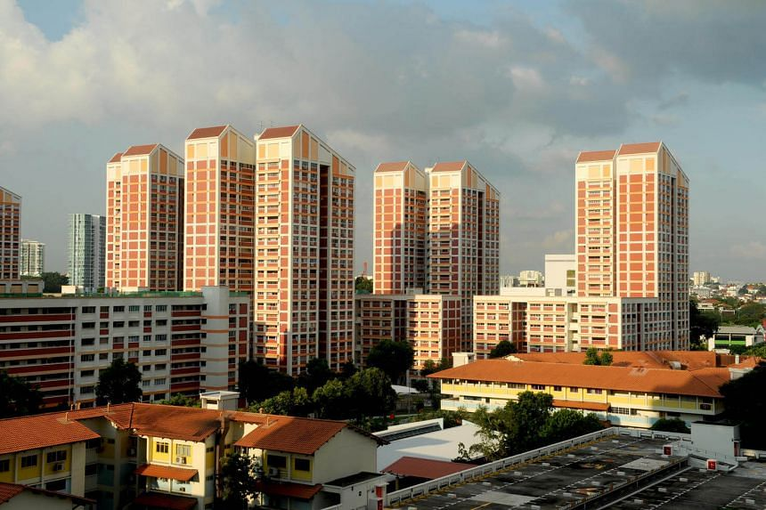 HDB flats inched up 0.5 per cent, according to flash estimates from SRX Property.