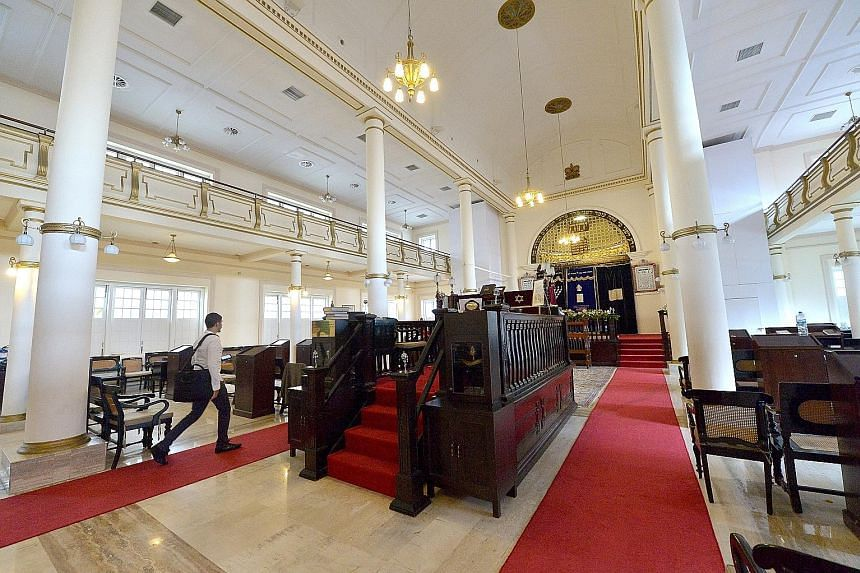Built in 1878, the Maghain Aboth in Waterloo Street is the oldest surviving synagogue in South-east Asia. It is one of two synagogues for Singapore's Jewish community. The other is the Chesed-El Synagogue in Oxley Rise. Both were gazetted as national