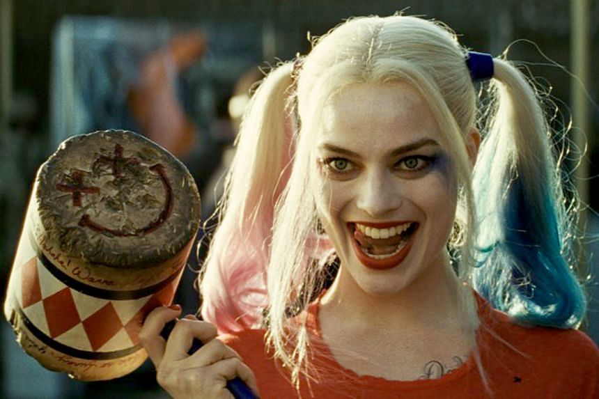 Australian actress Margot Robbie plays Harley Quinn in Suicide Squad.