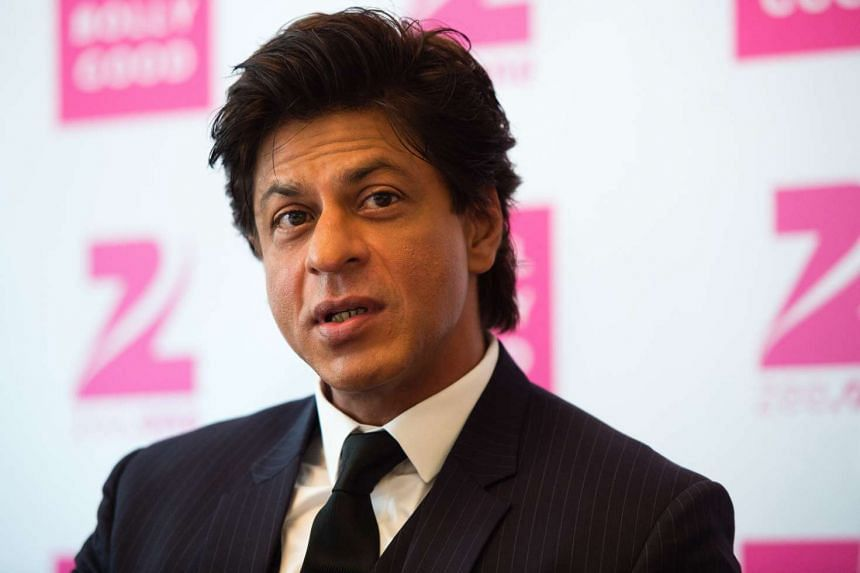 Indian Bollywood actor Shah Rukh Khan speaks during a press conference on the new Bollywood channel 'Zee.One' on July 28, 2016.