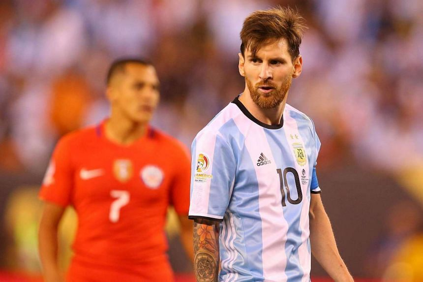 Lionel Messi abruptly announced his international retirement after Argentina lost the Copa America final to Chile.