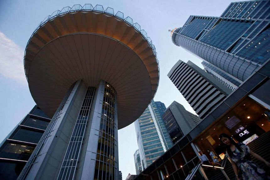 MTI data indicated that financial services has been one of the poorest performers in Singapore's economy in recent months.