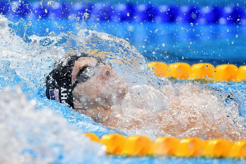 Ryan Murphy of the USA won the 200m backstroke gold on Aug 11 in 1min 53.62sec.