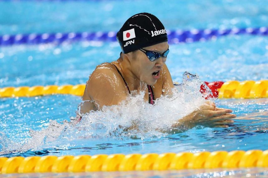 Rie Kaneto of Japan won the 200m breaststroke Olympic gold in 2min and 20.30sec, on Aug 11.