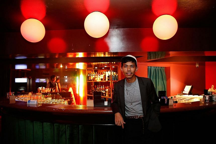 Mr Hasnor Sidik is one of the co-founders of Cherry, a new hip-hop club in York Hotel.