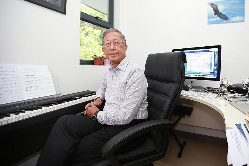 Originally a solid-state physicist, Prof Tan (above) later gravitated towards acoustics partly because of his interest in music. He now specialises in another way of creating music - analysing sounds from musical instruments and using that to synthesise t