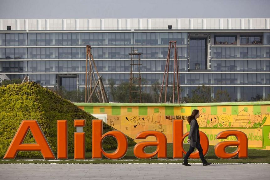 Alibaba's quarterly revenue and profit exceeded estimates of analysts despite a slowing Chinese economy.