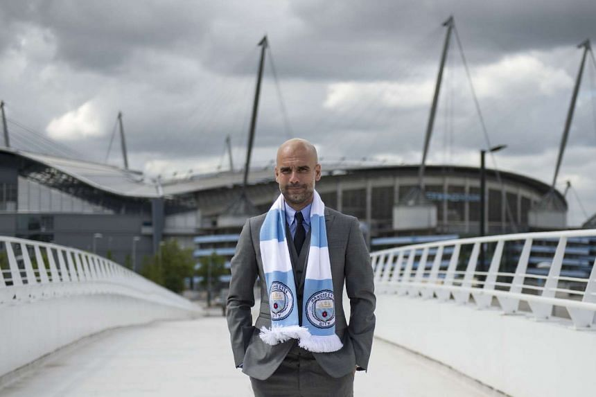 Guardiola (above) wants to see more passion and heart from his players from the off as they seek a fifth domestic title.