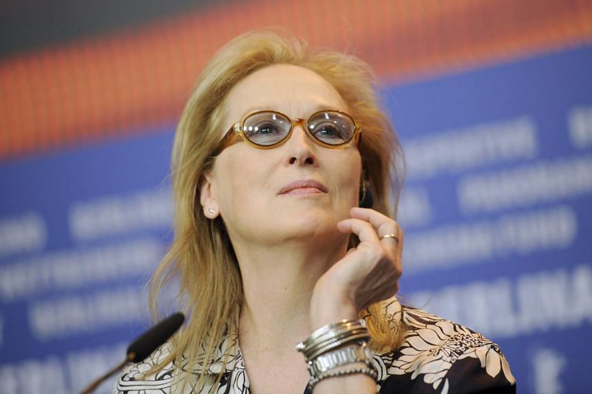 Actress Meryl Streep, president of the international jury for the 66th Berlinale International Film Festival, attends a news conference in Berlin, Germany on Feb 11, 2016.