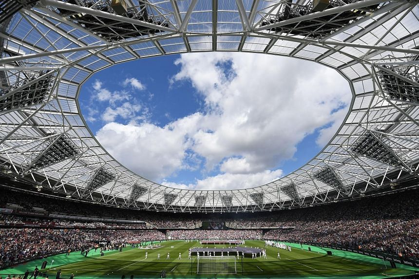 The London Stadium, the showpiece arena for the 2012 Olympics, is now the new home ground for West Ham United this Premier League season.