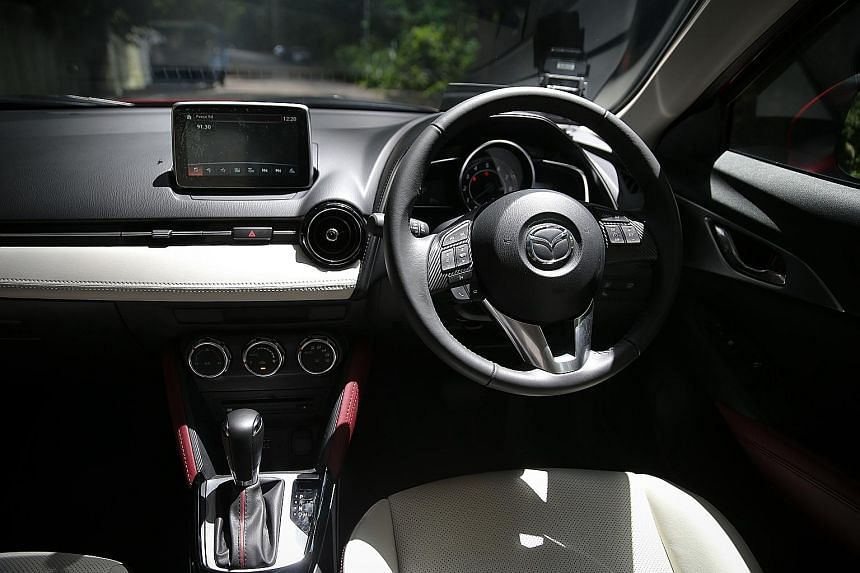 The Mazda CX-3 is suitable for drivers who like the shape of a crossover and enjoy the dynamism of a hatchback.