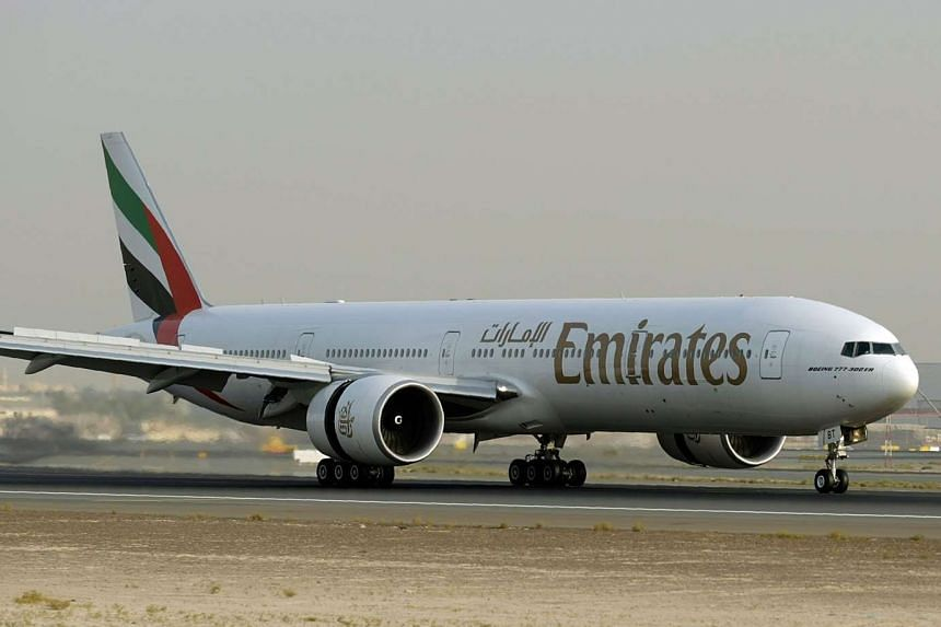 The victim fell asleep after taking prescription medication on a long-haul Emirates flight from Dubai to New York.