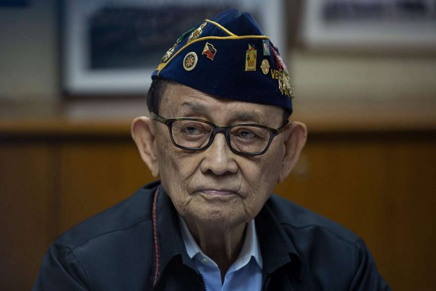 Former Philippine president Fidel Ramos at the Philippine Consulate General in Hong Kong on Aug 12, 2016.