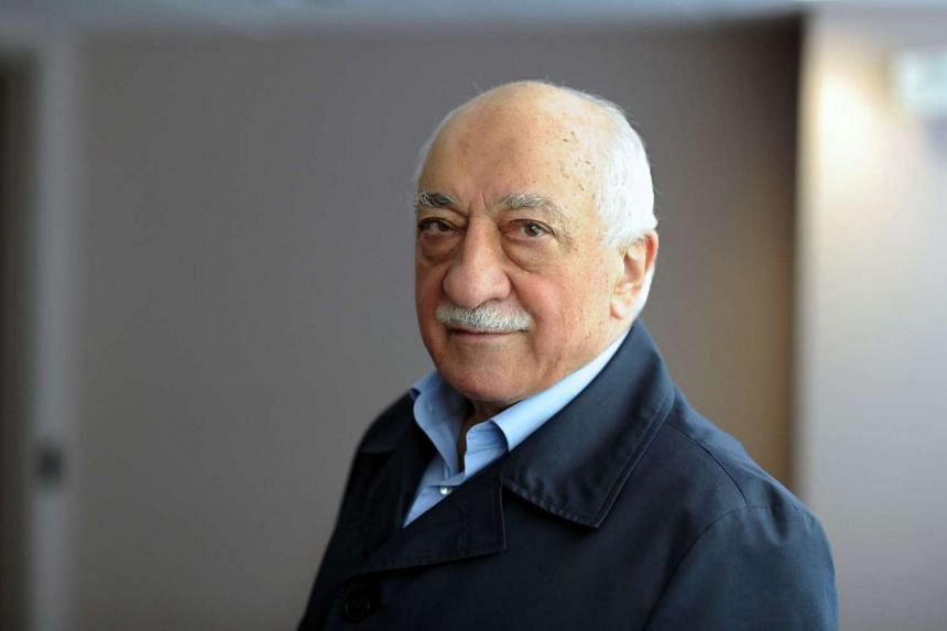 Cleric Fethullah Gulen denies any involvement in the attempted putsch in which 240 people were killed.