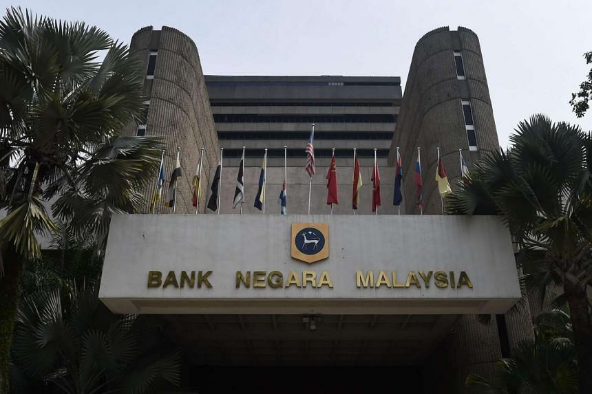 The headquarters of Bank Negara Malaysia is pictured in Kuala Lumpur on Aug 12.