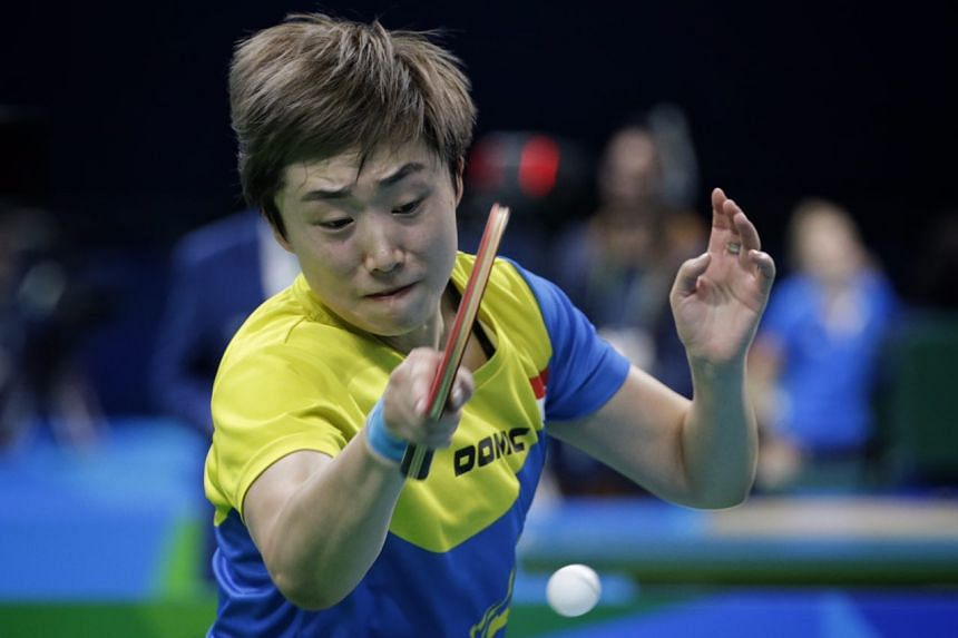 Feng Tian Wei in action on Aug 12, 2016.