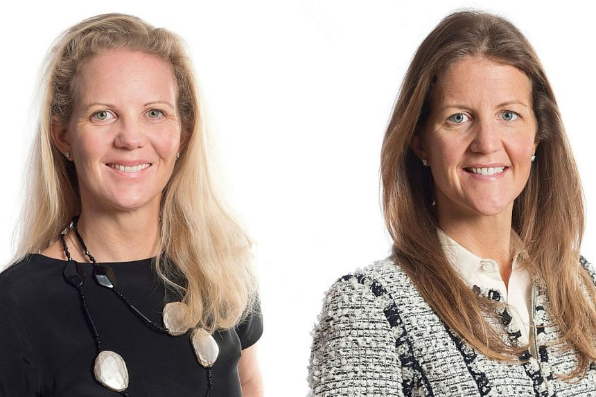 Ms Lindh (right) and her sister Ms Martinson saw their stakes in Lundbergs almost double to 14 per cent each, after their father transferred some of his holdings.