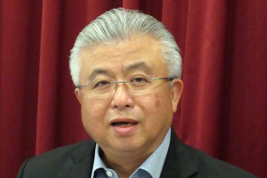 SCCCI president Thomas Chua says only 51 per cent of those polled are engaged in innovation efforts.